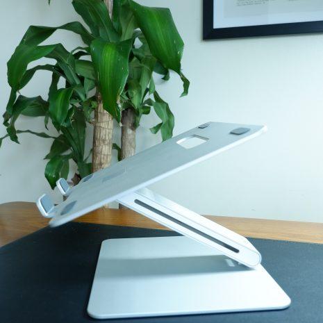 Adjustable Laptop Riser – Side View