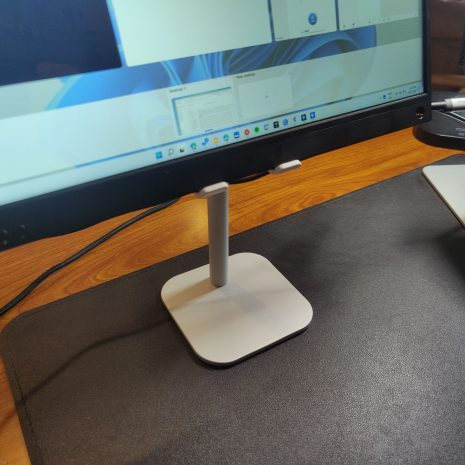 The Axis with large 15 inch monitor